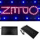 LED Store Business Open Sign Neon Bright Light On/Off Switch Animated Motion H2