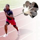 Running Power Chute Speed Training Resistance Exercise Parachute New HS