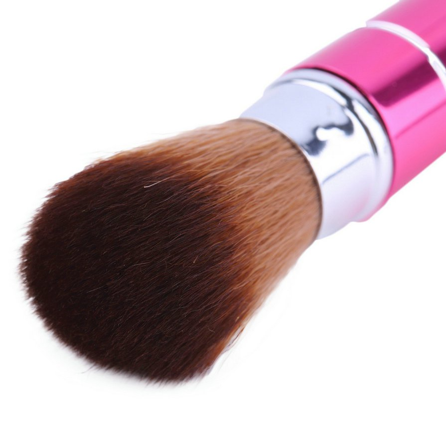 Retractable Soft Face Cheek Powder Foundation Blush Brush Makeup Cosmetic Tool S