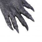 One Pair Halloween Werewolf Wolf Paws Claws Cosplay Gloves Costume Party HS