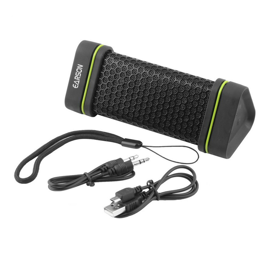 EARSON ER151 Wireless Bluetooth FNRG Car Home Stereo Speakers Waterproof CA