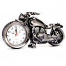 Creative Motorcycle Shape Alarm Kids Clock Desk Clock Gift Craft Ornaments H5