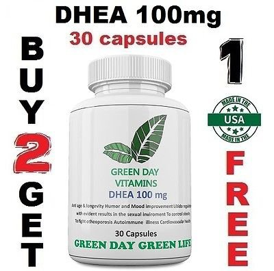 DHEA 100mg Pharmaceutical Grade Healthy Aging Made USA Boosts Metabolism