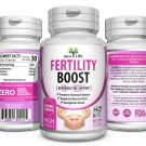 FEMALE FERTILITY BOOST SUPPORT HORMONAL BALANCE AID CONCEPTION PREGNANT PILLS