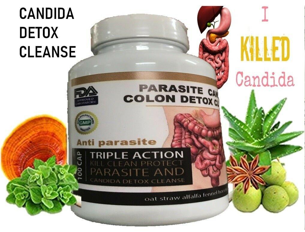 Parasite Cleanse DETOX Liver Colon Yeast Blood KILL Killer vital 200 Cap XL cure