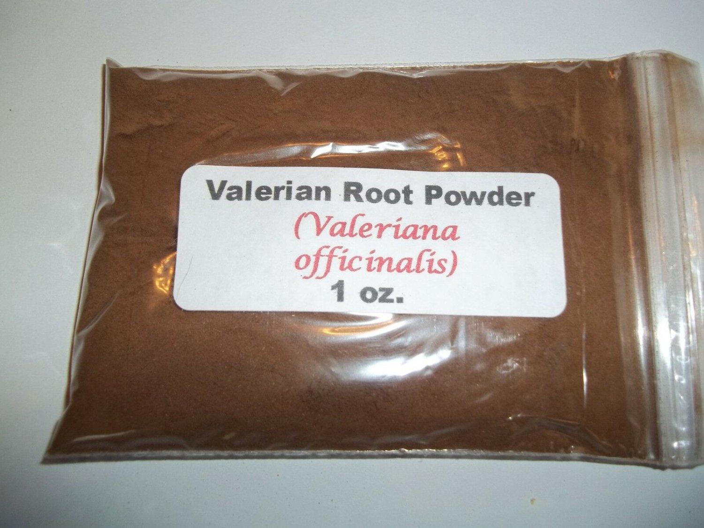 Valerian root powder (Valeriana officinalis)
