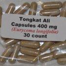 Tongkat Ali Root Powder Indonesia Longjack 30 count 400mg each