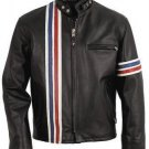 Men Easy Rider America Biker Leather Jacket