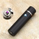 New Design High Quality Smoking Rechargeable Electric Windproof Flameless Cigar Lighter COLOR  BLACK
