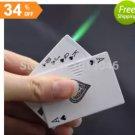 Windproof Lighter Poker Style Lighter