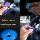 Fidget Spinner lighters Toy hand spinner usb lighter Stress Reducer COLOR BLUE