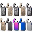 New Double ARC Electric USB Lighter Rechargeable Plasma Windproof Pulse Cigarette COLOR BLACK