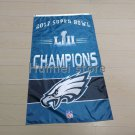 new design home decoration flag with super bowl LII Philadelphia Eagles flag