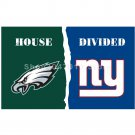 Philadelphia Eagles vs New York Giants House Divided Rivalry Flag