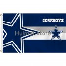 3x5ft digital printed No.4 polyester cowboys player logo Dallas Cowboys Flags