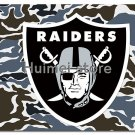 Oakland Raiders flag 100D polyester digital print Camouflage flag custom Las Vegas Raiders