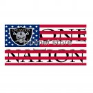 las vegas flag 90x150cm one nation flag banner Oakland Raiders flag custom artwork gift banner