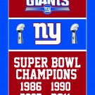 New York Giants FLAG 90X150cm champion flag banner