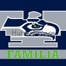 New York Giants FLAG 90X150cmbanner Familia style digital print custom Seattle Seahawks