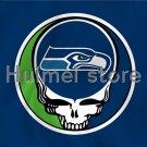 3ft x 5ft Seattle Seahawks flag helmet style banner 100D Digital Printing flag
