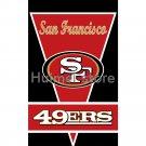 San Francisco 49ers flag 3ftx5ft Banner 100D Polyester Flag Brass Grommets