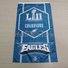 2017 super bowl champions Eagles Vertical flag with Philadelphia Eagles banner