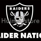RAIDER NATION FLAG Oakland Raiders Flag 3ft x 5ft Polyester Banner 90x150cm