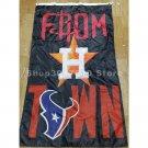 3x5ft Houston Astros Houston Texans flag custom flag banner