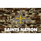 3x5ft United States New Orleans Saints flag custom outdoor Camouflage Saints banner flag