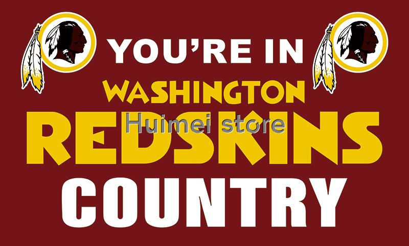 Washington Redskins World Series Football Team Flying Flag Banner Champions