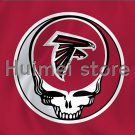 custom skull circle hear 3x5FT decoration custom atlanta falcons flag