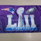 New England Patriots 90x150cm super bowl LII Philadelphia Eagles flag