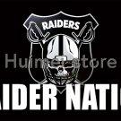 Oakland Raiders Flag 3X5FT 90x150cm custom Raider Nation Flag banner Las Vegas Raiders flag