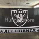 Oakland Raiders Fans Welcome Flag 3X5FT Custom Oakland Raiders Flag