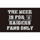 90x150cm raiders fans flag with 3x5ft Oakland Raiders flag banner