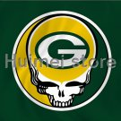 Green Bay Packers Flag 3ft x 5ft Polyester skull circle head decoration banner flag
