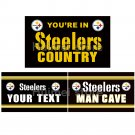 Pittsburgh Steelers flag 3X5FT digital print polyester flag custom sport flag banner