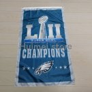 3ft x 5ft Philadelphia Eagles with super bowl flag