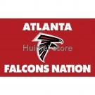 Helmet Atlanta Falcons Flag 3ft X 5ft World Series Football Team Super Bowl Fan