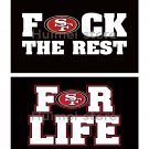 San Francisco 49ers Banner Football Flag 2016 World Series Champions Banner