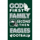 Newest custom Philadelphia Eagles flag God First Family flag