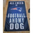 New England Patriots Flags 3x5ft Polyester all i need is football banner