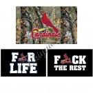 3x5ft St Louis Cardinals flag with 100D polyester