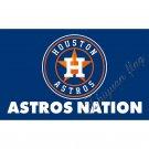 Houston Astros Flag 90x150cm 3x5feet 100D Polyester