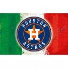 Houston Astros flag 3ftx5ft Banner 100D Polyester Flag metal Grommets