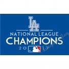 3x5ft Los Angeles Dodgers flag with custom champions banner flag