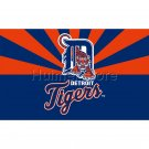 Detroit Tigers Flag USA With Stars and Stripes Flag 3x5 ft custom Banner 90x150cm Sport flag