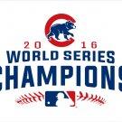Chicago Cubs Flag 2016 World Series Champions Flag 3ft x 5ft Polyester Banner Flying 150* 90cm