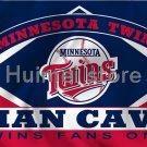 Minnesota Twins flag 3ftx5ft Banner 100D Polyester Flag copper Grommets Huimei Flag