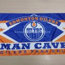 Edmonton Oilers Flag NH*L 3ft x 5ft Polyester MAN CAVE Style Banner